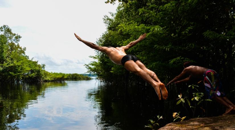 Um mergulho na Amazônia deverdade