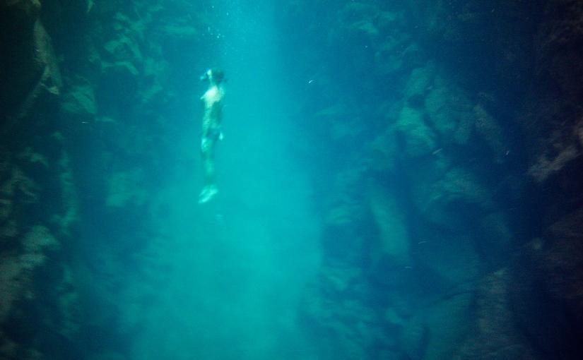 Las Grietas: um paraíso azul emGalápagos