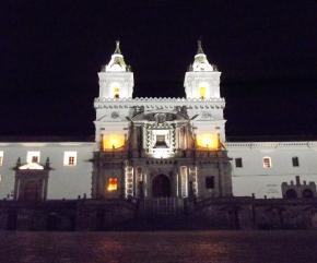 Noite de Quito - Igreja