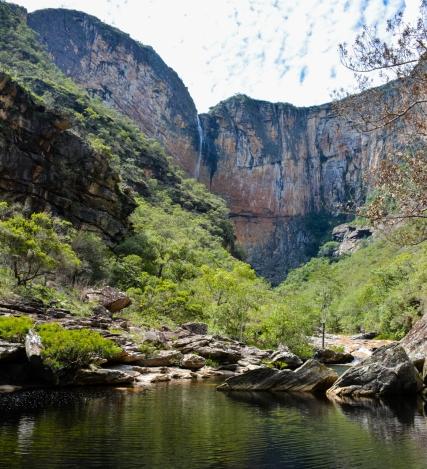 Rio e Cachoeira do Tabuleiro