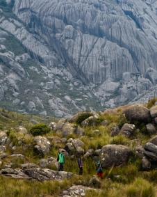 Ao pés da montanha