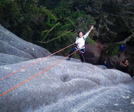 Subindo na corda