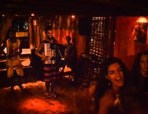 Noite Praia do Sono - Bar Caiçara