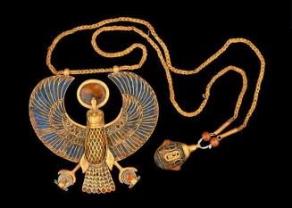 Colar de águia em ouro