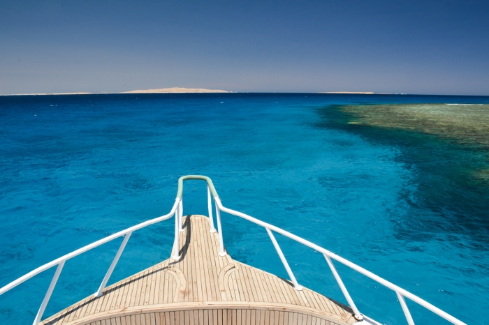 Mar de Hurghada - Barco